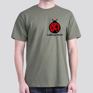 Ladybugs Rocks! Dark T-Shirt