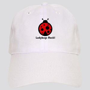 Ladybugs Rocks! Cap