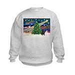 XmasMagic/ Shar Pei Kids Sweatshirt