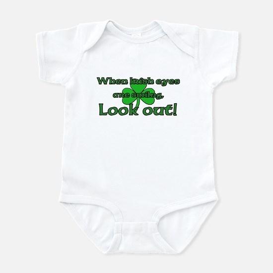 When Irish Eyes Are Smiling Infant Bodysuit