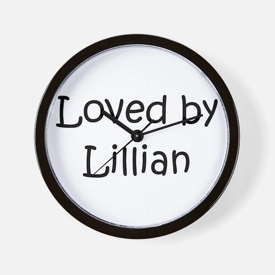 Cute Lillian Wall Clock