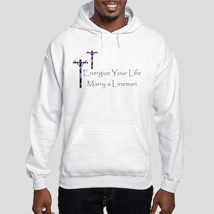 Energize Your Life Hooded Sweatshirt