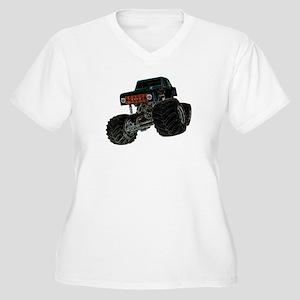 Monster Crawler II Women's Plus Size V-Neck T-Shir
