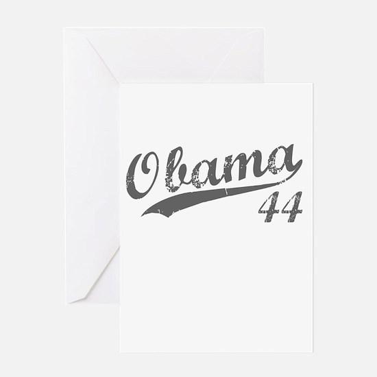 Obama, Number 44 Greeting Card