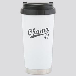 Obama, Number 44 Stainless Steel Travel Mug