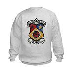 USS FRANK E. EVANS Kids Sweatshirt