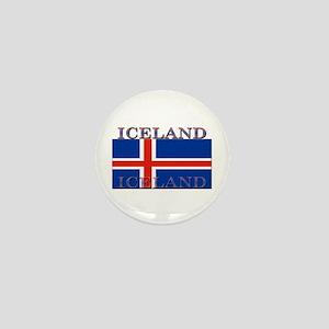 Iceland Mini Button