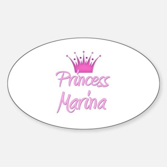 Princess Marina Oval Decal