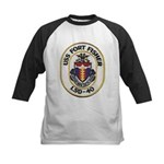 USS FORT FISHER Kids Baseball Tee