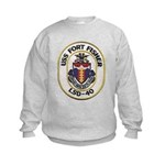 USS FORT FISHER Kids Sweatshirt