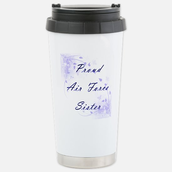 Proud Sister Stainless Steel Travel Mug