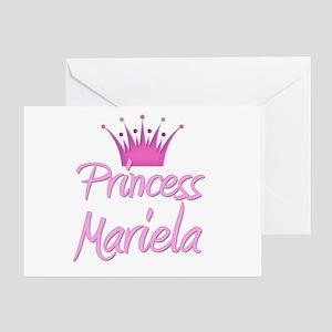Princess Mariela Greeting Card