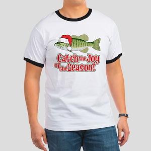 Catch The Joy Fishing Ringer T