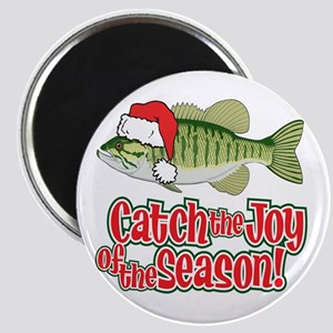 Catch The Joy Fishing Magnet