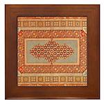 Needlepoint Framed Tile