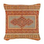 Needlepoint Woven Throw Pillow