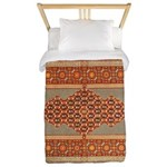 Needlepoint Twin Duvet Cover