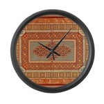 Needlepoint Large Wall Clock