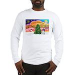 XmasMusic 2MC/Newfie Long Sleeve T-Shirt