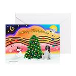 XmasMusic 2MC/Newfie Greeting Card
