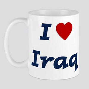 I HEART IRAQ Mug