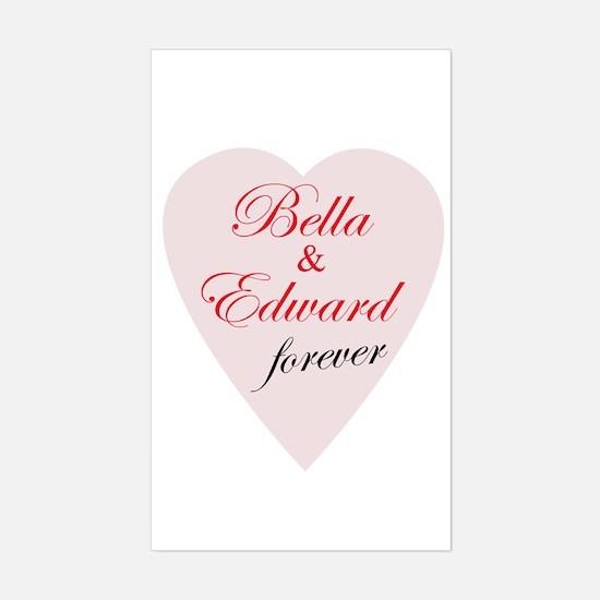 Bella and Edward Twilight Decal