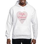 Bella and Edward Twilight Mov Hooded Sweatshirt
