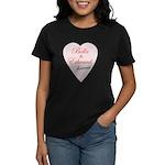 Bella and Edward Twilight Mov Women's Dark T-Shirt