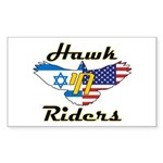 HawkChai Rectangle Sticker