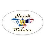 HawkChai Oval Sticker