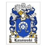 Lazowski Family Crest Small Poster