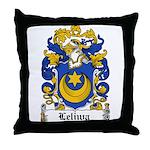 Leliwa Family Crest Throw Pillow