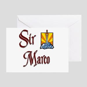Sir Marco Greeting Card