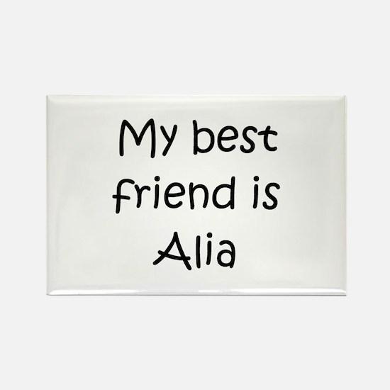 Cute Alia Rectangle Magnet