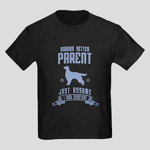 Gordon Setter Kids Dark T-Shirt
