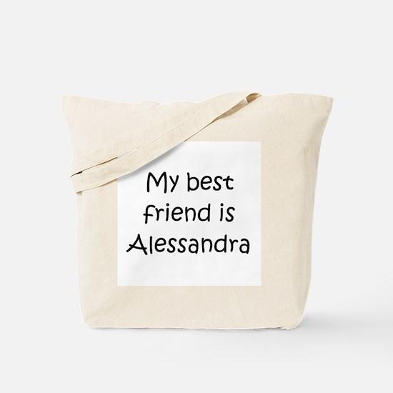 Cute Alessandra Tote Bag