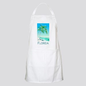 Florida Palms BBQ Apron