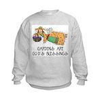 Gardens are God's Blessing Kids Sweatshirt