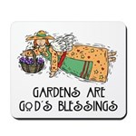 Gardens are God's Blessing Mousepad