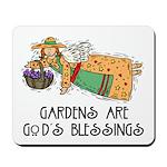 Gardens are God's Blessing Mousepad