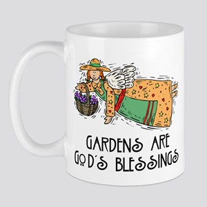 Gardens are God's Blessing Mug