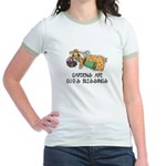 Gardens are God's Blessing Jr. Ringer T-Shirt