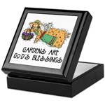 Gardens are God's Blessing Keepsake Box