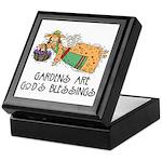 Gardens are God's Blessing Keepsake Box