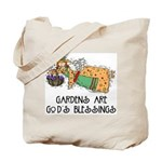 Gardens are God's Blessing Tote Bag