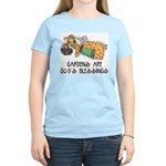 Gardens are God's Blessing Women's Pink T-Shirt