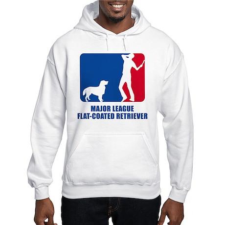 Flat-Coated Retriever Hooded Sweatshirt