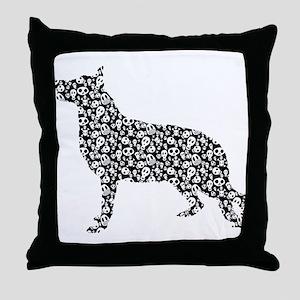 German Shepherd Dog Throw Pillow