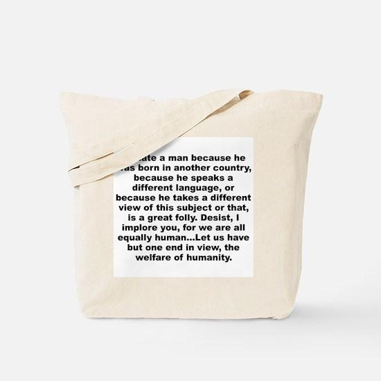 Cute Free thinker Tote Bag