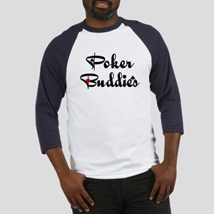 Poker Buddies Baseball Jersey